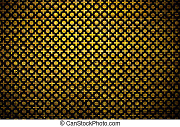 Metal mesh texture - Texture of mesh metal for background