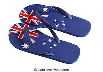 Australian Flag Thongs - Thongs are an Australian Icon....