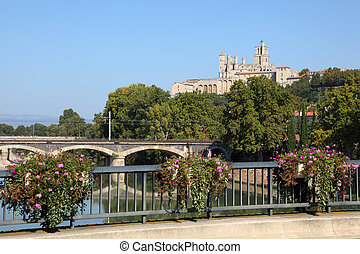 Roman Catholic Cathedral of Beziers, southern France
