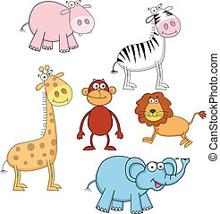 Animal cartoon eps 10