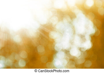 autumnal bokeh - autumnal natural background blurring with...
