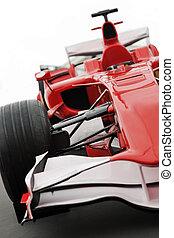 red formula 1 model