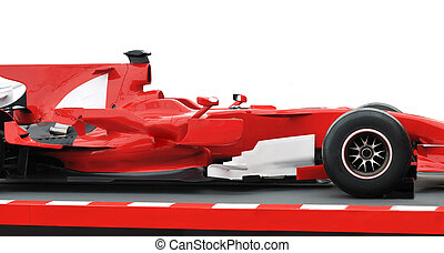 red formula 1 model - formula 1 one auto fast red car...