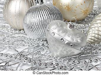 prata, Natal, Coração