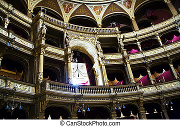 old state opera Opera house in Budapest - Famous Hungary...