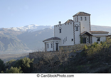 country house in Sierra Nevada
