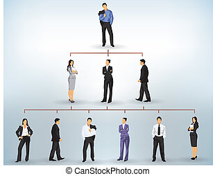 businessman silhouettes - business people silhouettes in a...