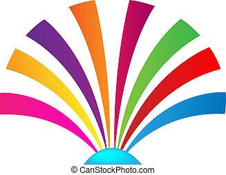 Shell multicolored logo