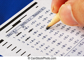 Computer grade answer sheet