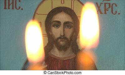 icon of Jesus - Church icon, icon of Jesus
