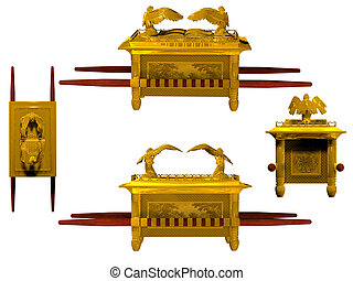 Set of 4 Arks of the Covenant. - Set of 4 Arks of the...