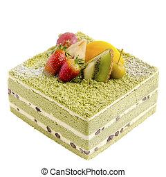 Japanese Macha Cake