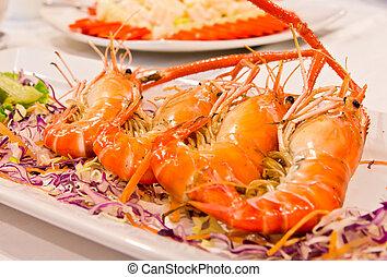 fired shrimp  - fired shrimp