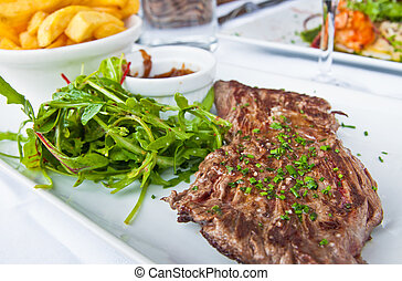 steak beef meat - Delicious juicy steak beef meat