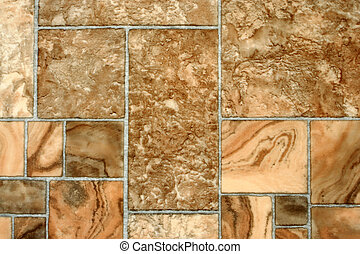 Detailed image of a linoleum background