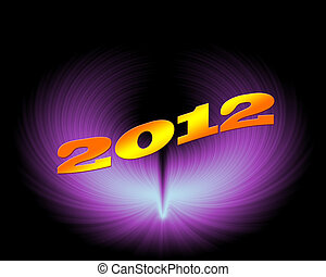 2012 year n artistic design