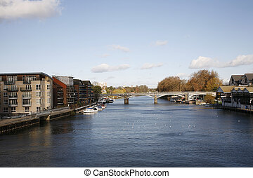 River View of Thames - Thames River View between Kingston...