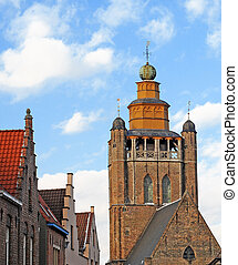 Church of Jerusalem in Bruges