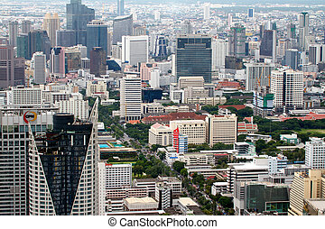BANGKOK - SEPTEMBER 15 : Bangkok city view September 15,...