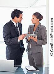 empresa / negocio, socio, posición, tableta, su,...