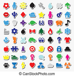 stickers - set of stickers