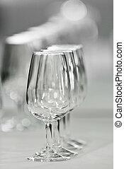 Glasses for wine called catavinos - Several Spanish glasses...