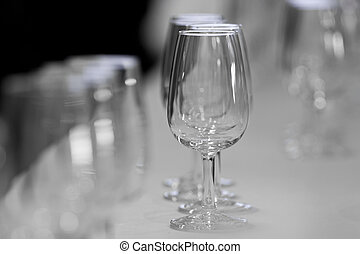 Glasses for wine called catavinos - Several Spanish glasses...