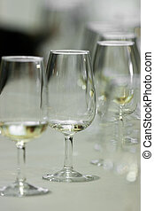 "Glasses ""catavinos"" for txakoli - Several Spanish glasses..."