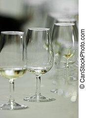 """Glasses """"catavinos"""" for txakoli - Several Spanish glasses..."""