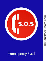 SOS Emergency Call Sign