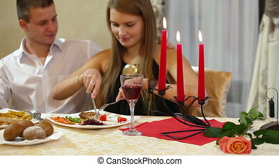 Romantic Fine Dining