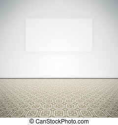 empty room - An image of a nice empty room for your content