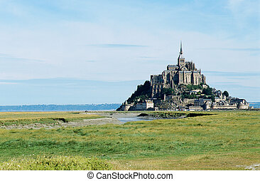 The mont Saint-michel in Normandy, France