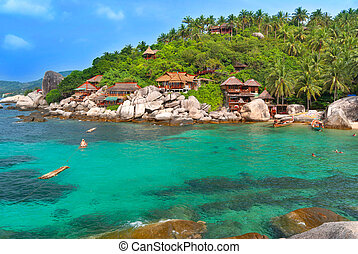 Paradise vacation place