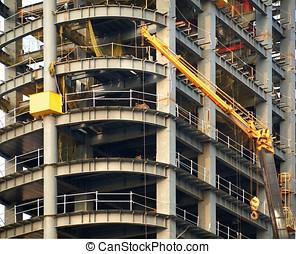 Modern Highrise Construction
