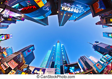 Times Square is a symbol of New York City - NEW YORK CITY -...