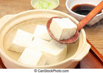"""yudofu - This is called """"yudofu"""" with a Japanese dish. We..."""