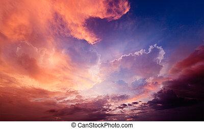 戲劇性, 天空