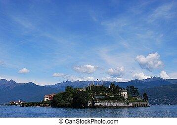 Isola, Bella, lago, maggiore