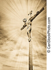 the crucifixion - Crucifixion - Jesus on the cross