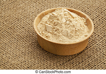 maca root powder (nutrition supplement - superfood from...