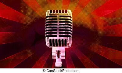 Vintage Microphone Loop