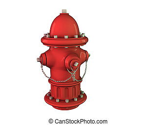 Fire Hydrant - Isolated picture of a Fire Hydrant