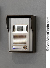 Video intercom - Exterior box for home video intercom...