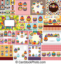 easter egg card  - easter egg card