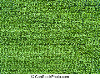 Green cotton relief canvas texture