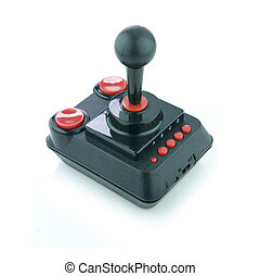 Joystick - Picture of a retro joystick.