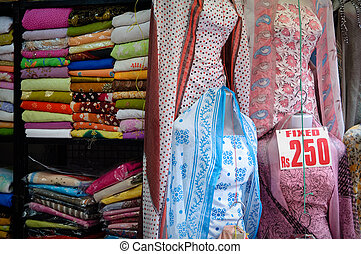 Indian Fabrics and Dresses for Sale
