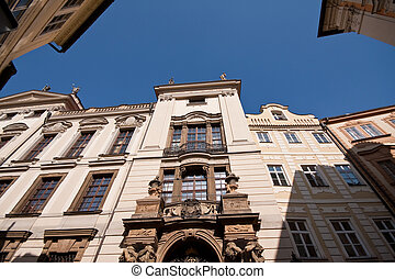 Prag historic architecture - Historic architecture in Prag,...