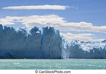 ice mountains of Argentina - photo was taken on the glacier...